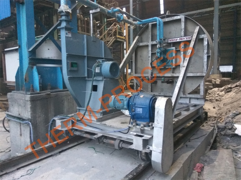 Vertical Laddle Preheater